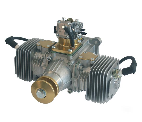Aviomac 125cc Twin Gas Engine