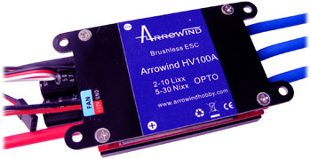 AH HV100A ESC-Programmable Air Brushless Opto