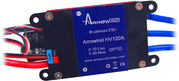 AH HV120A ESC-BL Programmable Air Brushless Opto