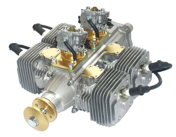 Aviomac 250cc Quad Gas Engine