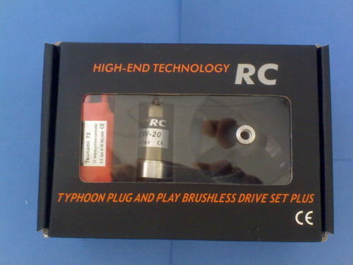 HET-Typhoon Brushless EDF 2W-20-72A Drive Set Plus