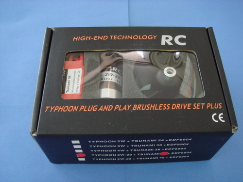 HET-Typhoon Brushless EDF 2W-20 Drive Set Plus