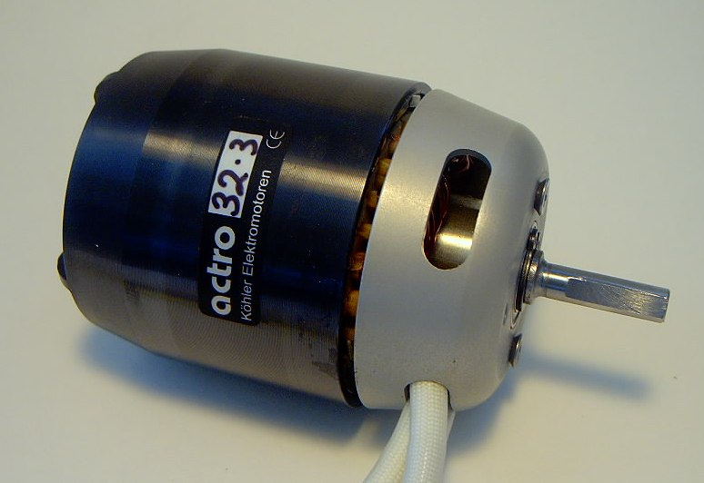 Actro 32-3 Heli Motor 5mm shaft