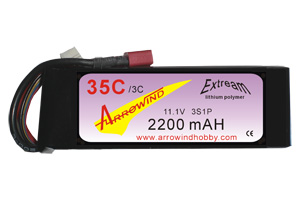 AH 2200MaH-11.1V 35C Lipo Battery Pack