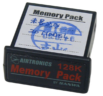 Airtronics 96817 Memory Pack (Expansion Card) SD-10G