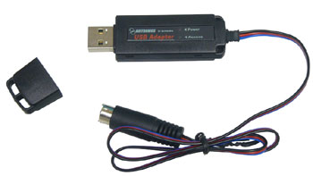 Airtronics 97025 USB Adapter SD-10G with Disc