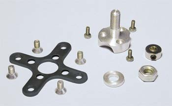AXI Radial Mount/Prop Adapter Set for AXI 22xx