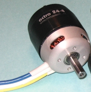 Actro 24-3 Heli Motor 5mm shaft
