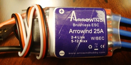AWH Arrowind 25A Brushless ESC