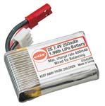 Cox 250mAh-7.4V Lipo Micro Battery Pack