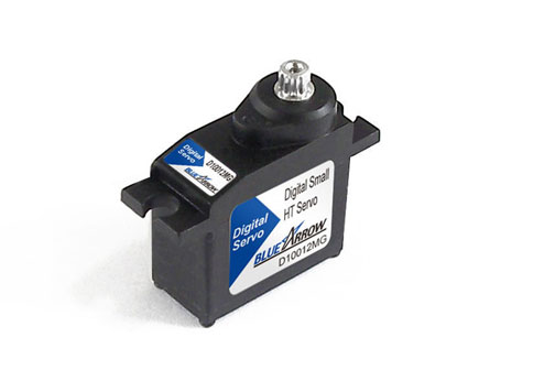 BlueArrow D10012MG Mini Digital MG Servo 12.2g-30.5oz/in