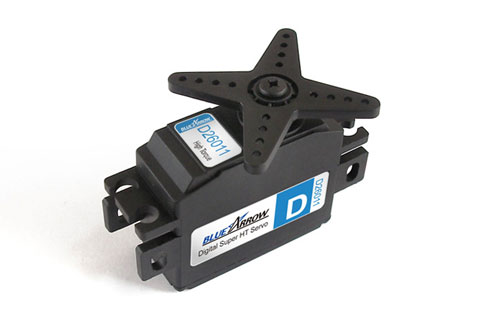 BlueArrow D26011MG Hi-Torque Digital Servo 26.1g-58.3oz/in