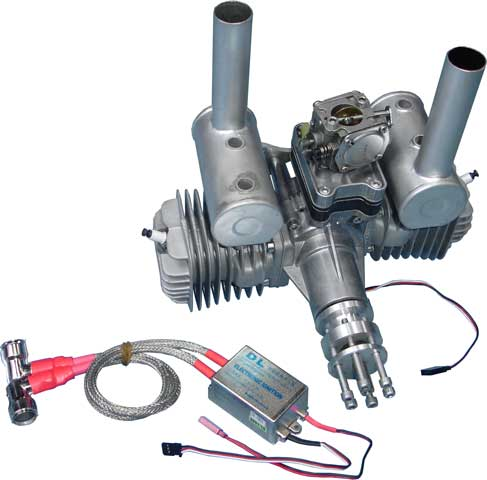 DLE 111cc Twin R/C Gas Engine