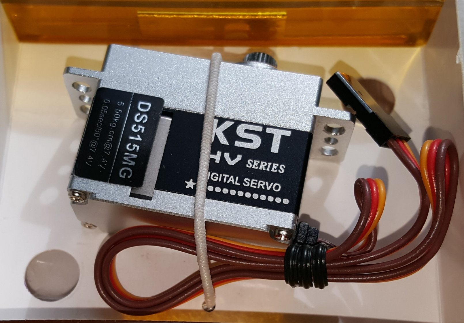 KST DS515MG, Digital, Metal Gear & Case, HV-HS Heli Cyclic Servo