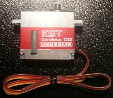 KST DS589MG Digital, Metal Gears HV Cyclic Servo