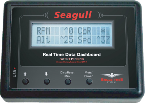 EagleTree Seagull Wireless Dashboard Boat System-2.4Ghz