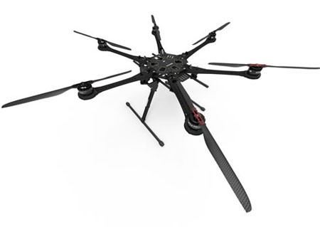 DJi Spread Wings S800 EVO ARF Hexacopter Multi-Rotor