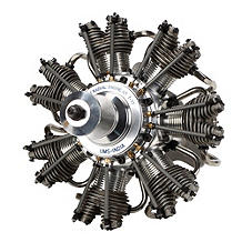 Evo 7 Cyl 77cc Four Stroke Glow Radial Engine