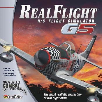 GP RealFlight G5 R/C Flight Simulator with Combat