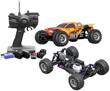 HPI RS4 MT2 Nitro G3.0 RTR 4WD Monster Truck