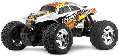 HPI E-Savage RTR Electric Monster Truck w/Baja Body
