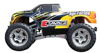 HPI E-Savage RTR Electric MT w/GT Truck Body