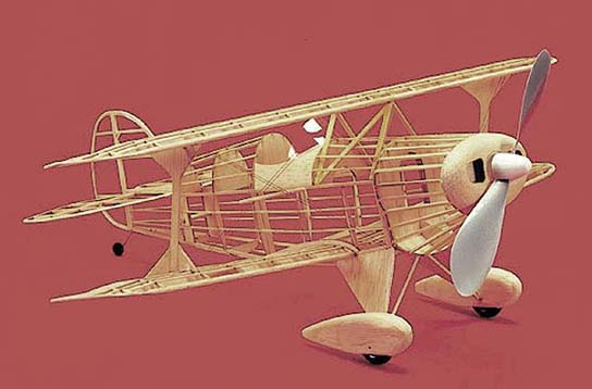 Herr Pitts Special F/F Model Airplane Kit
