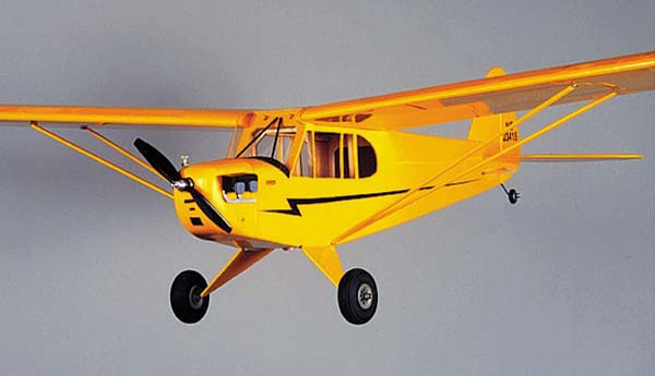 "HERR Piper J-3 Cub Kit 48"" - Click Image to Close"