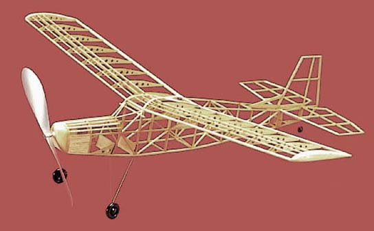 Herr Scout F/F Model Airplane Kit