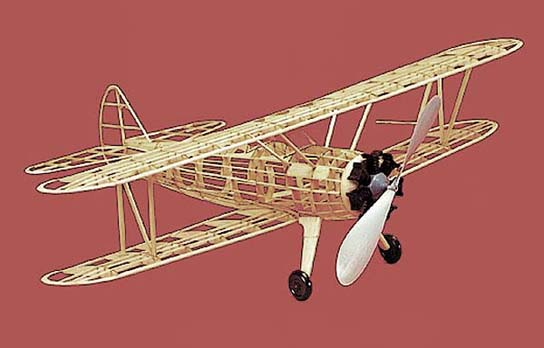 Herr Stearman PT 17 F/F Model Airplane Kit