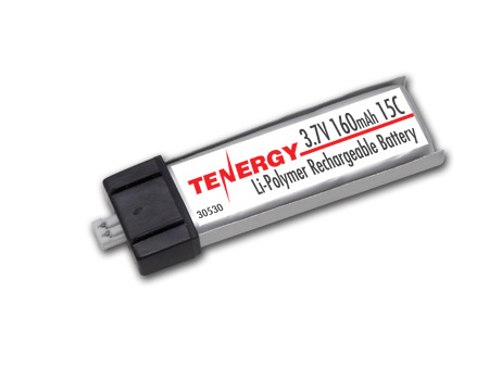 Tenergy 3.7v-160mAh - 15C Lipo Battery