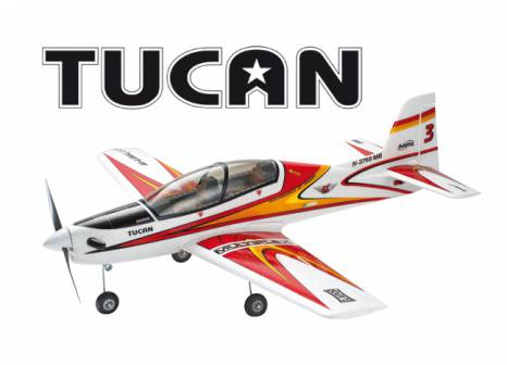 Multiplex Tucan ARF Kit Aerobatic Low Wing Sport Flyer