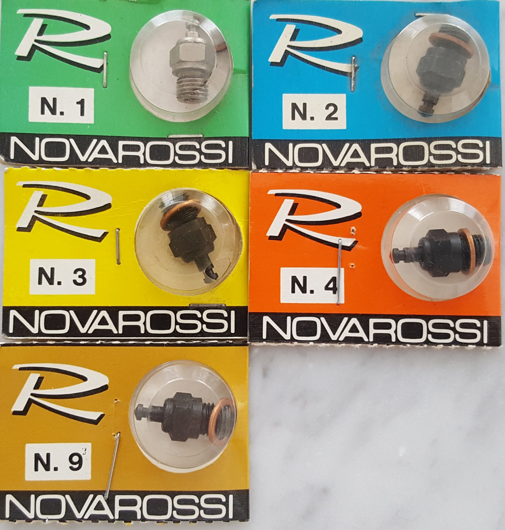 NovaRossi No.2 Glow Plug-Hot