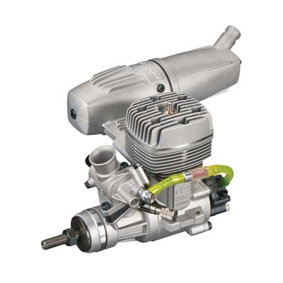 OS GGT10 10cc Gasoline Engine w/Power Boost Pipe