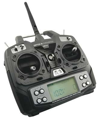 ESSAIE RADIO HITEC AVEC MODULE IFHss Optic6-2.4