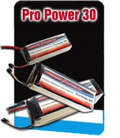 TP 11.1V-1350mAh 3S-30C Pro-Power Lipo Battery Pack