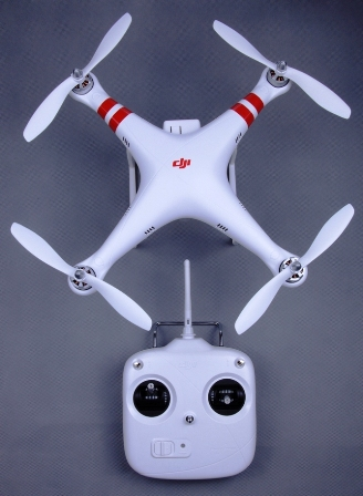 DJi Phantom 1.1.1 RTF Aerial UAV Drone Quadcopter for GoPro w/ra