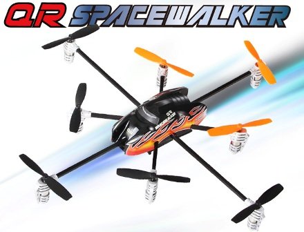 QR-SpaceWalker 6-Axis Gyro RTF