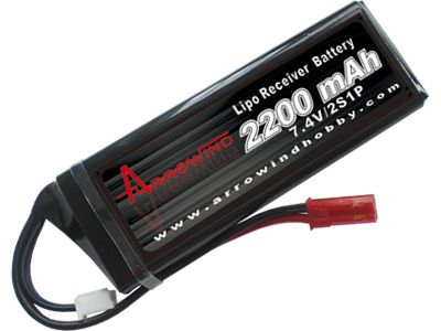 AH Rx2200-2S1P Lipo Battery Pack