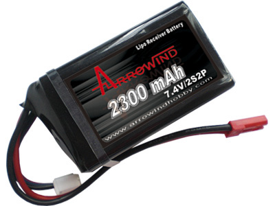 AH Rx2300-2S2P Lipo Battery Pack