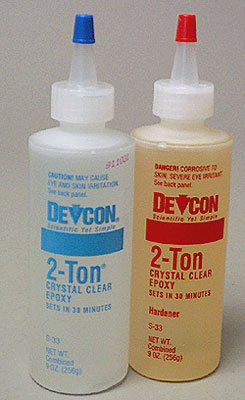 Devcon S-33 2-Ton 30-minute epoxy 9oz