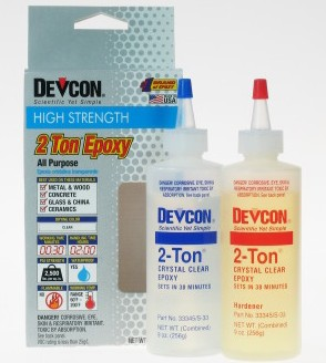 Devcon S-33 2-Ton 30-minute epoxy 9oz - Click Image to Close