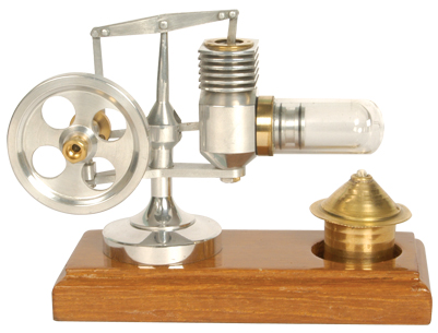 UMS-Stirling Engine Small Silver