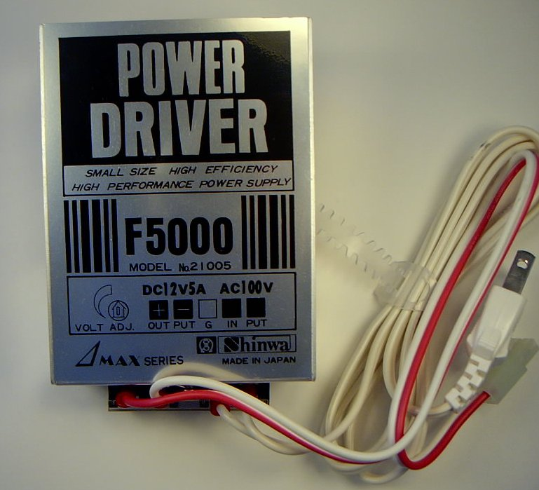 Shinwa 12VDC-5A Power Supply (Driver)