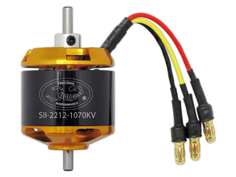 Scorpion SII-2212-1070 Brushless Outrunner Motor