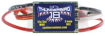 CC ThunderBird 18A ESC Brushless