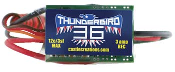 CC ThunderBird 36A ESC Brushless