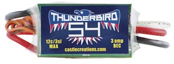 CC ThunderBird 54A ESC Brushless
