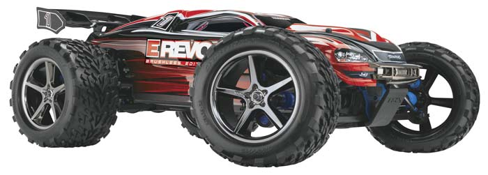 Traxxas E-Revo RTR Truck w/2.4Ghz Radio-Brushless Edition