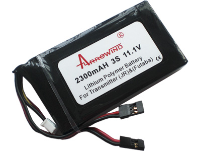 AH Tx2300-3S Lipo Battery Pack